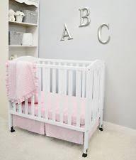 Mini Portable Cribs Portable Crib Bedding Set Ebay