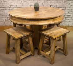 mango wood dining table mantis solid natural mango wood dining table 100cm round 4 mantis