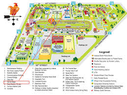 Ohio State Parking Map by Ohio State Fair Parking Map Image Mag
