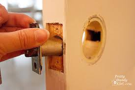 How To Remove Bedroom Door Knob Without Screws Removing Door Knobs Latches And Hinges Pretty Handy