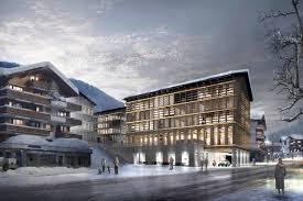 hotel architektur five hotel la montana in klosters switzerland