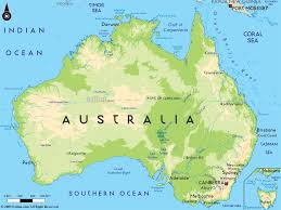 map of australia political australia political map for roundtripticket me