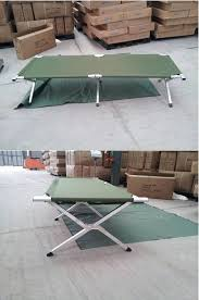 Folding Single Camping Bed Military Folding Single Camping Bed Camping Cot With Carry Bag