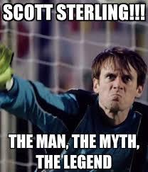 Sterling Meme - scott sterling the man the myth the legend studio c