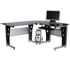 organizing a glass corner desk u2014 interior exterior homie