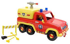 amazon fireman sam venus vehicle 2 1 playset toys u0026 games
