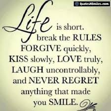 Encouraging Meme - iamtrubel life is short meme quote life love
