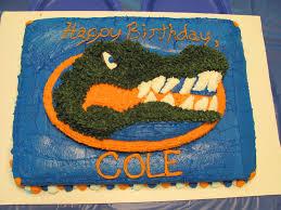 florida gator birthday cake cakecentral