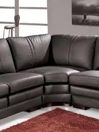 Modern Leather Sectional Sofas Amazon Com Vig Furniture Ev 3330 Modern Black Leather Sectional