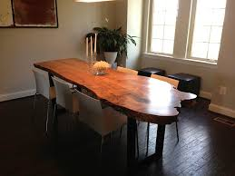 Living Edge Dining Table by Gallery U2014 Asheville Hardware