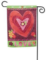 valentine u0027s day decorative garden and house flags