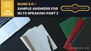 55 ielts speaking part 2 topics for ielts exam september