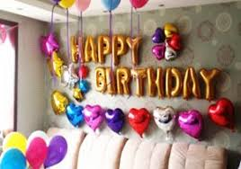 birthday celebration decoration at home image baby