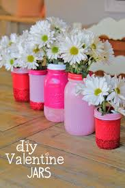 Mason Jar Vases Diy Glitter Mason Jar Vases Craft Little Miss Momma