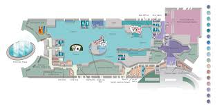 national harbor map national harbor casino property guide map on behance