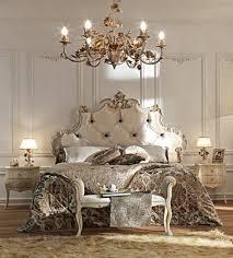 chambre à coucher style baroque 60 idées en photos avec éclairage romantique tête de lit