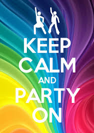 How To Make Your Own Keep Calm Meme - keep calm and party on keep calm and pinterest calming