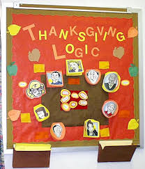 thanksgiving logic interactive math bulletin board