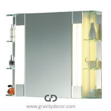 Bathroom Mirror Cabinet With Lights by Bathroom Cabinet With Led Mirrored Bathroom Cabinet With Led