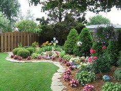 Fence Line Landscaping by 100 2472 Backyard Plants And Lawn