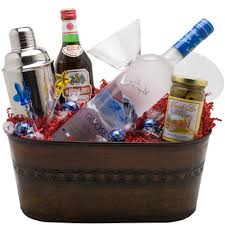 martini gift basket wine cellar grey goose martini gift basket