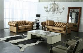 Chesterfield Sofa Set 2015 New Arrival Genuine Leather Chesterfield Sofa European Style