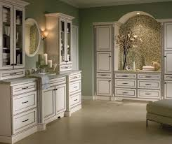 Bathroom With White Cabinets - contemporary bathroom vanity homecrest cabinetry