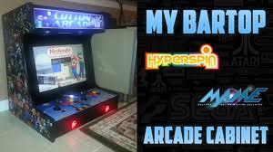 Bar Top Arcade Cabinet My Finished Bartop Arcade Build Youtube