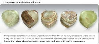 heart urn oceanward heart keepsake cremation urn engravable