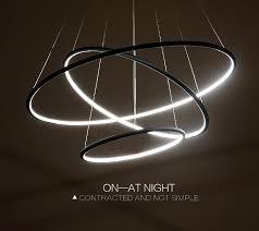 Led Pendant Light Fixtures Multi Ring Modern Led Pendant Light Westworld Light Fixture