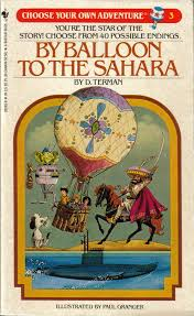 by balloon to the sahara choose your own adventure 3 book