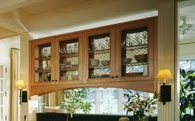 glass front kitchen cabinets traditional kitchen chicago