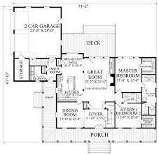 Country Style House Plans With Porches Country Style House Plan 4 Beds 3 Baths 2553 Sq Ft Plan 137 252
