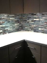 Glass Kitchen Tiles For Backsplash by Glass Tile Backsplash Ripple Waterfall Provided By Classic
