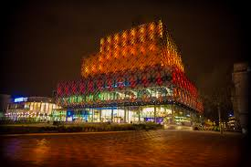festival of light birmingham library of birmingham lights up orange for vaisakhi