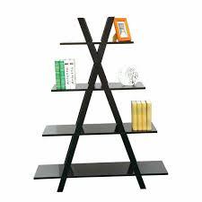 Red Ladder Bookcase by Ladder Bookshelf Ikea Amiphi Info
