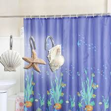 Seashell Curtains Bathroom Agptek 12pcs Shower Curtain Hooks Bathroom Home Fashions Seashell