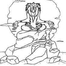 lion king simba coloring pages hellokids
