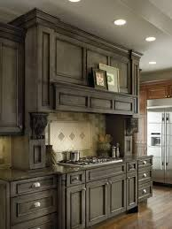 gray walls with stained kitchen cabinets blue gray stained cabinets instead of paint am i