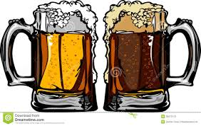beer vector beer or root beer mugs vector illustration stock photo image