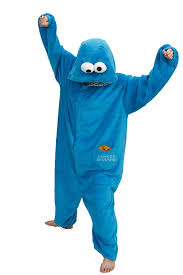cookie monster and elmo halloween costumes amazon com cookie monster halloween costume animal onesie