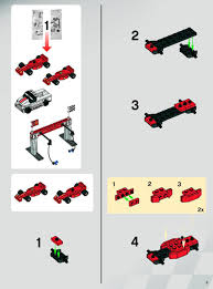 ferrari f1 lego lego ferrari f1 pit instructions 8155 racers