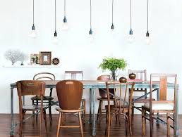 Best Chandeliers For Dining Room Lighting For Dining Room Table Multiple Simple Bare Bulb Pendants