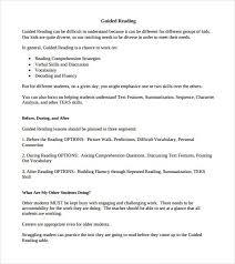 sample guided reading lesson plan template hitecauto us