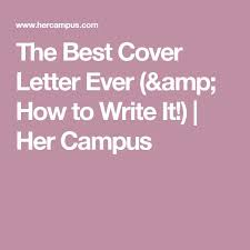as 25 melhores ideias de best cover letter no pinterest