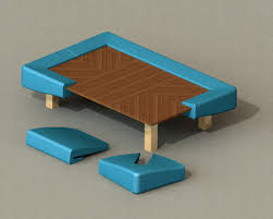 Modular Dining Table by Best Best Modular Coffee Kiosk 967