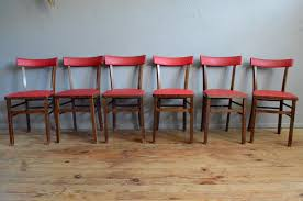 Vintage Bistro Chairs Vintage French Bistro Chairs Set Of 6 For Sale At Pamono