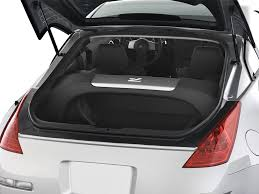 nissan altima boot space nissan 350z trunk