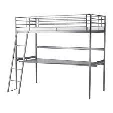 Desk Bunk Bed Ikea Svärta Loft Bed Frame With Desk Top Ikea