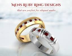 ruby rings designs images 11 mens ruby ring designs that are perfect for elegant males jpg